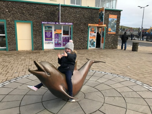 Fungie the Dolphin Monument, Dingle Co. Kerry, Ireland 2018