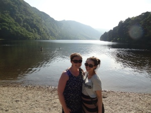 My amazing cousin and I in Glendalough